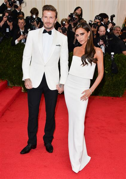 The Beckhams - Met Gala 2014