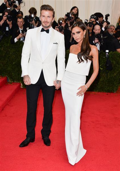 The Beckhams - Met Gala 2014
