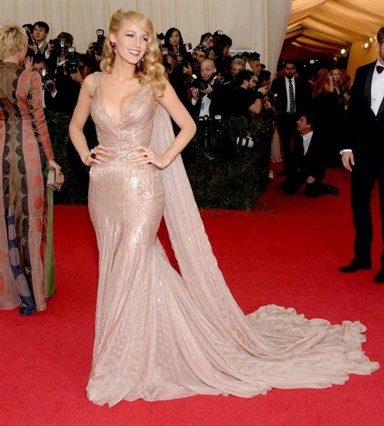 Blake Lively in Gucci - Met Gala 2014