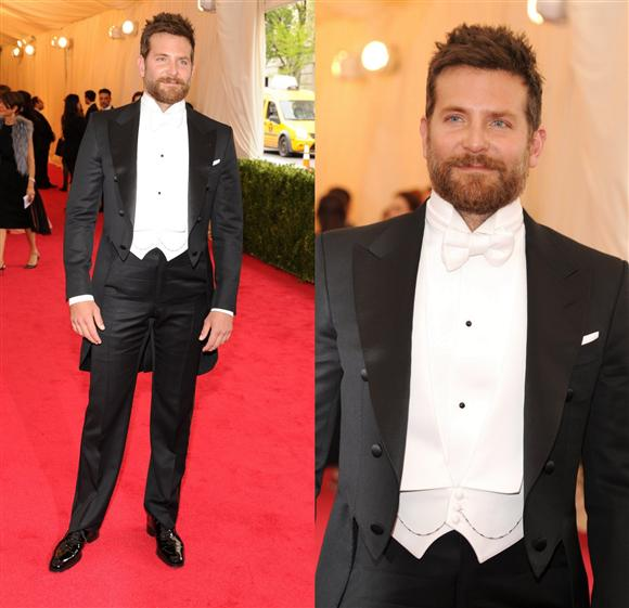 Bradley Cooper in Tom Ford - Met Gala 2014