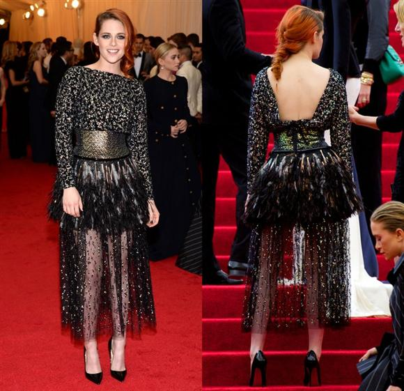 Kristen Stewart in Chanel - Met Gala 2014