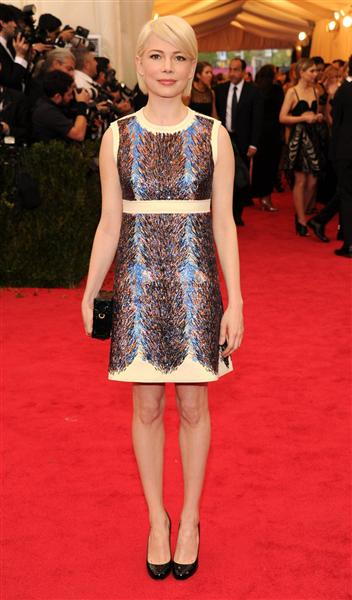 Michelle Williams in Louis Vuitton - Met Gala 2014