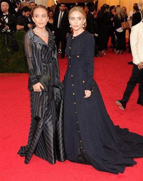 The Olsen's - Met Gala 2014