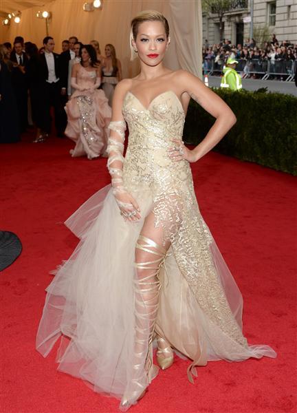 Rita Ora in Donna Karan - Met Gala 2014