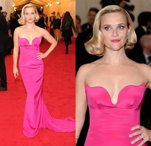 Reese Witherspoon in Stella McCartney - Met Gala 2014