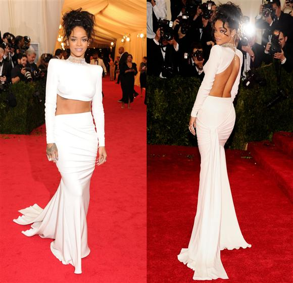 Rihanna in Stella McCartney - Met Gala 2014