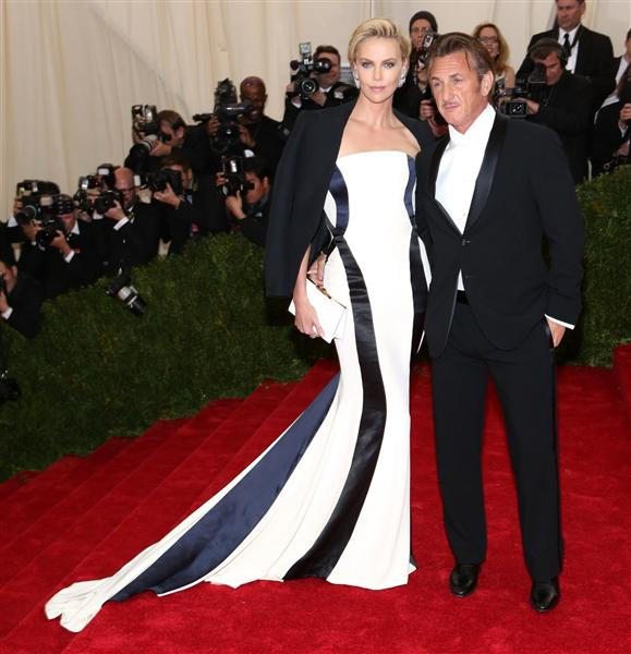Charlize Theron in Dior - Met Gala 2014