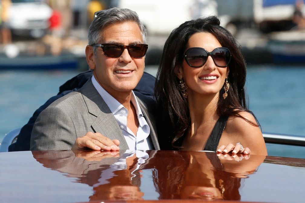 George weds Amal