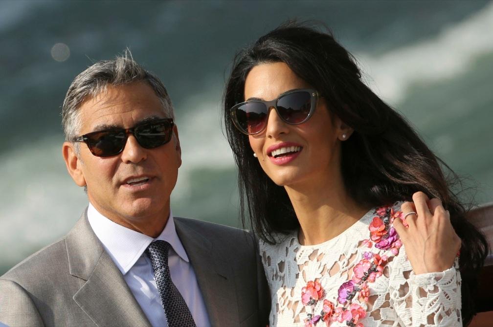 George weds Amal