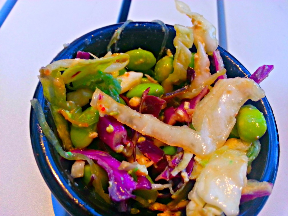 CABBAGE SLAW edamame, bean sprouts, seaweed