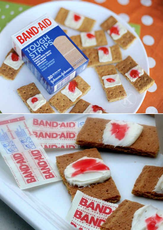 Bloodied Bandaids