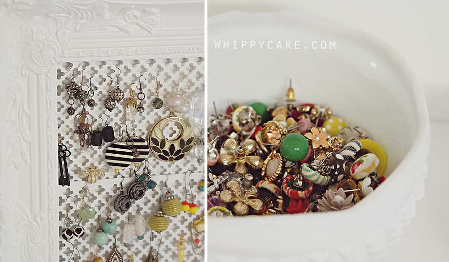 whippycake DIY jewelry board