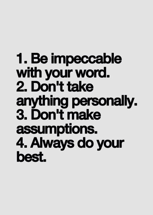 be-impeccable