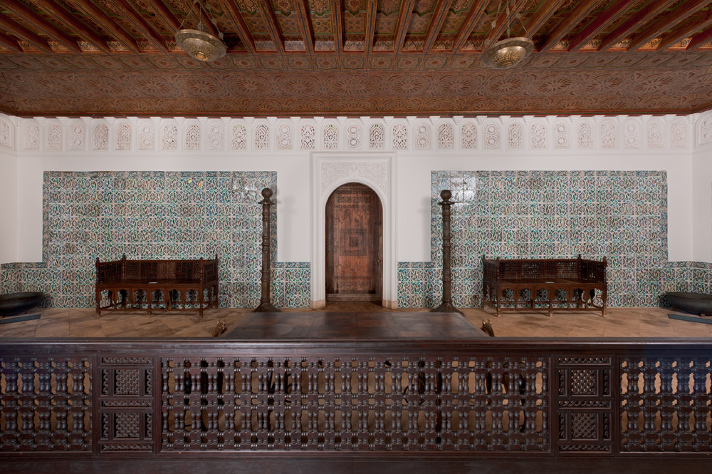 Custom-made Moroccan Ceiling of the Foyer