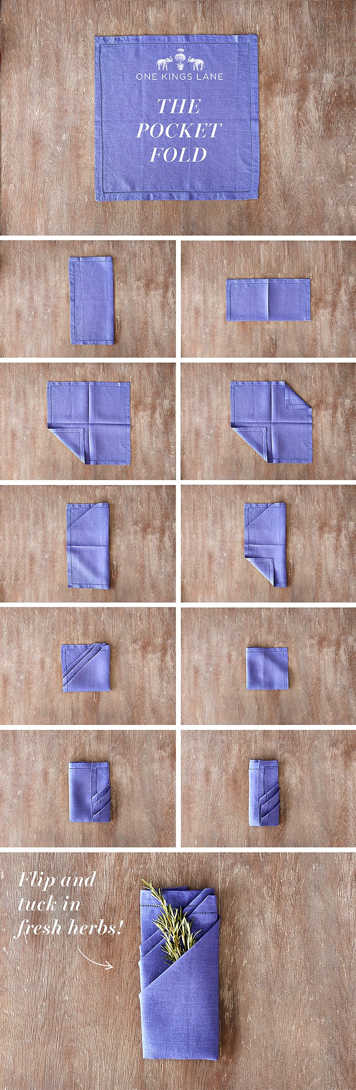 Napkin Pin_Pocket Fold