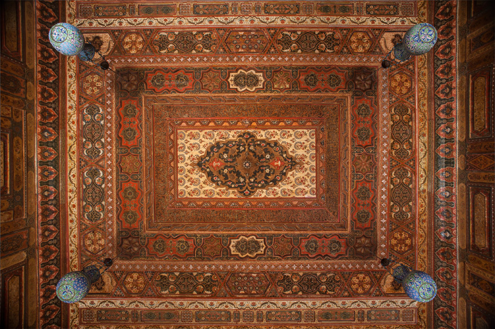 The Ceiling of The Damascus Room