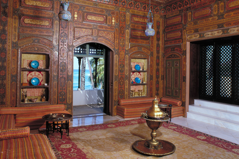 Another view of The Damascus Room
