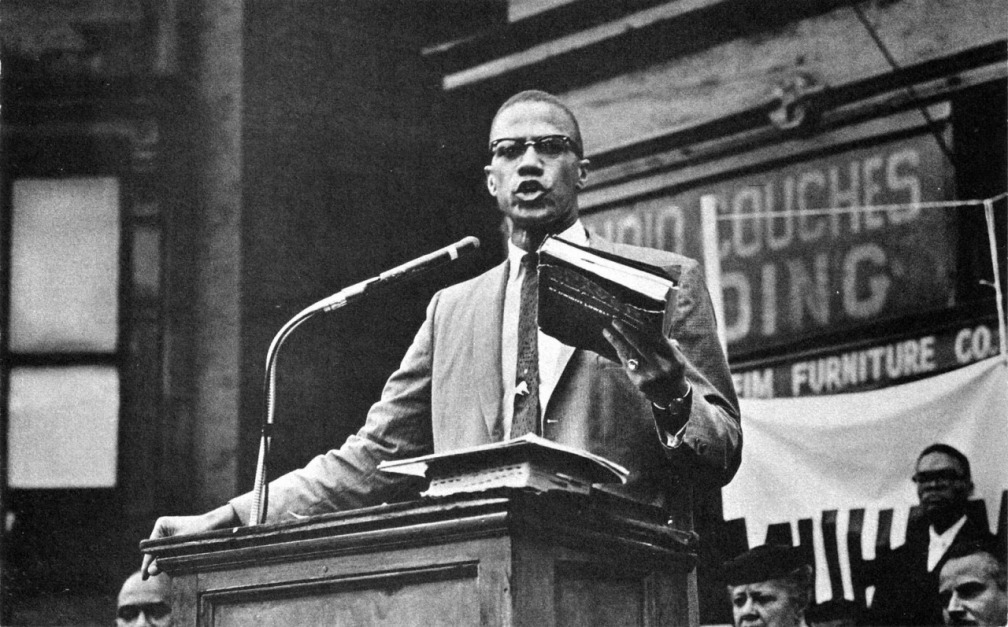 """Only a fool would let [their] enemy teach [their] children."" Malcolm X"