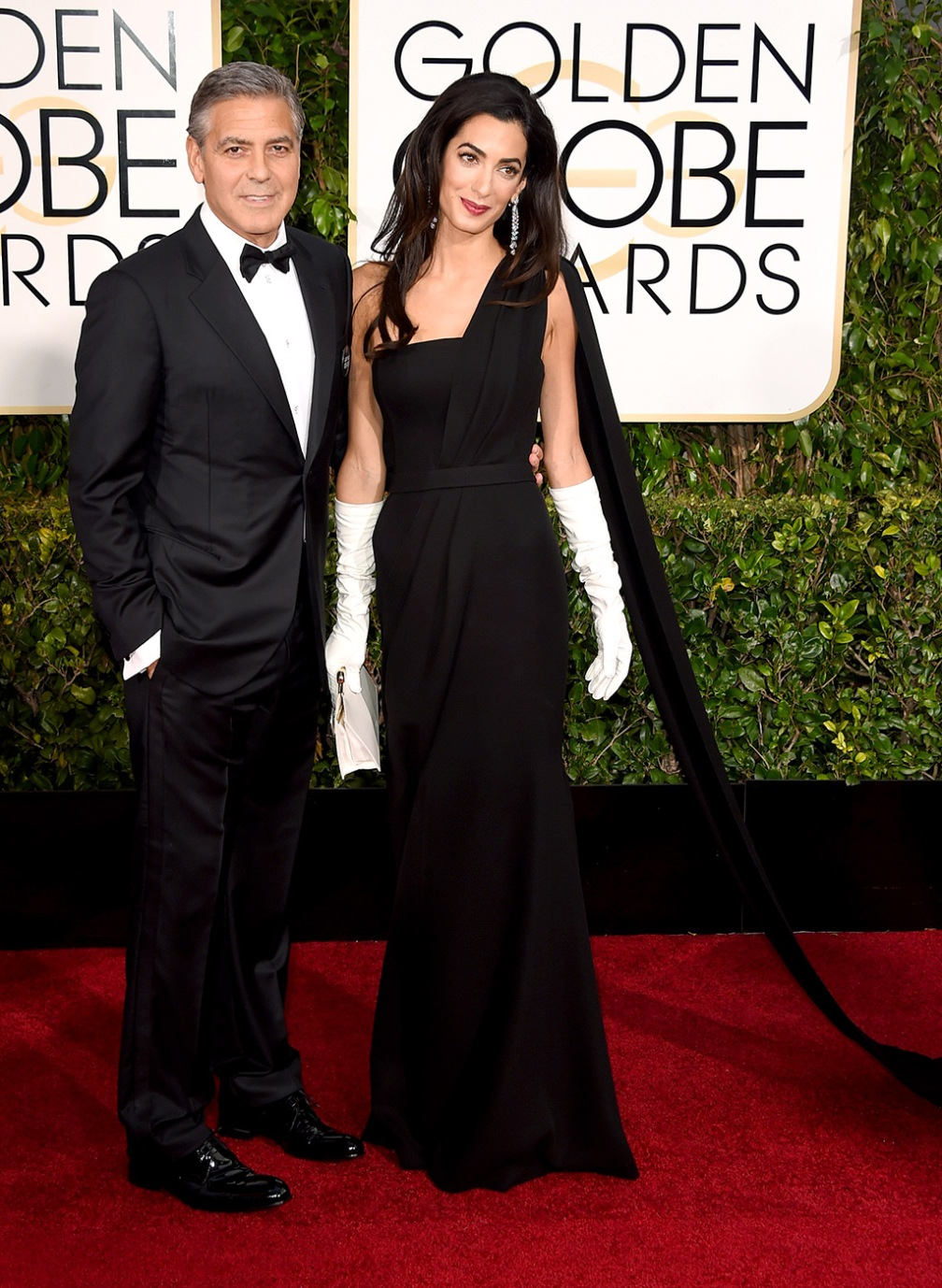 George and Amal Clooney - Amal, my favorite girl in the world, I know you can use about 100 more pounds as we speak. But you and your man owned it, I mean OWNED IT. I mean I was dying listening to George pay a tribute to you during his speech! *le sigh* umm move aside Brangelina!