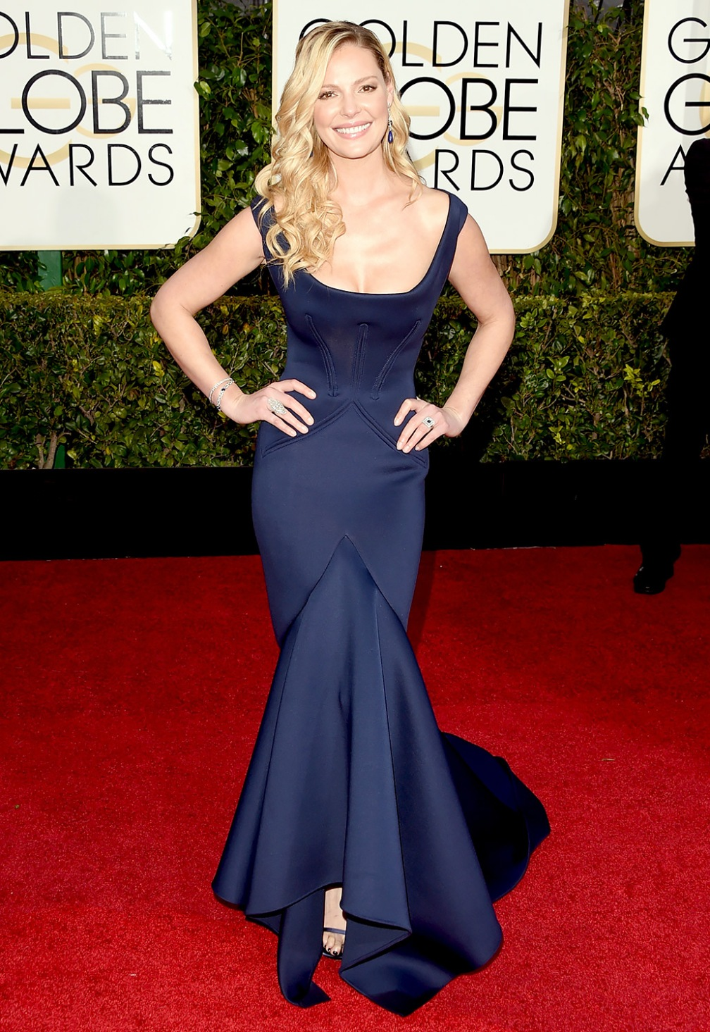 Katherine Heigl - My sister thought she wore the dress backwards. On second thought, I think she did!?!@@##$