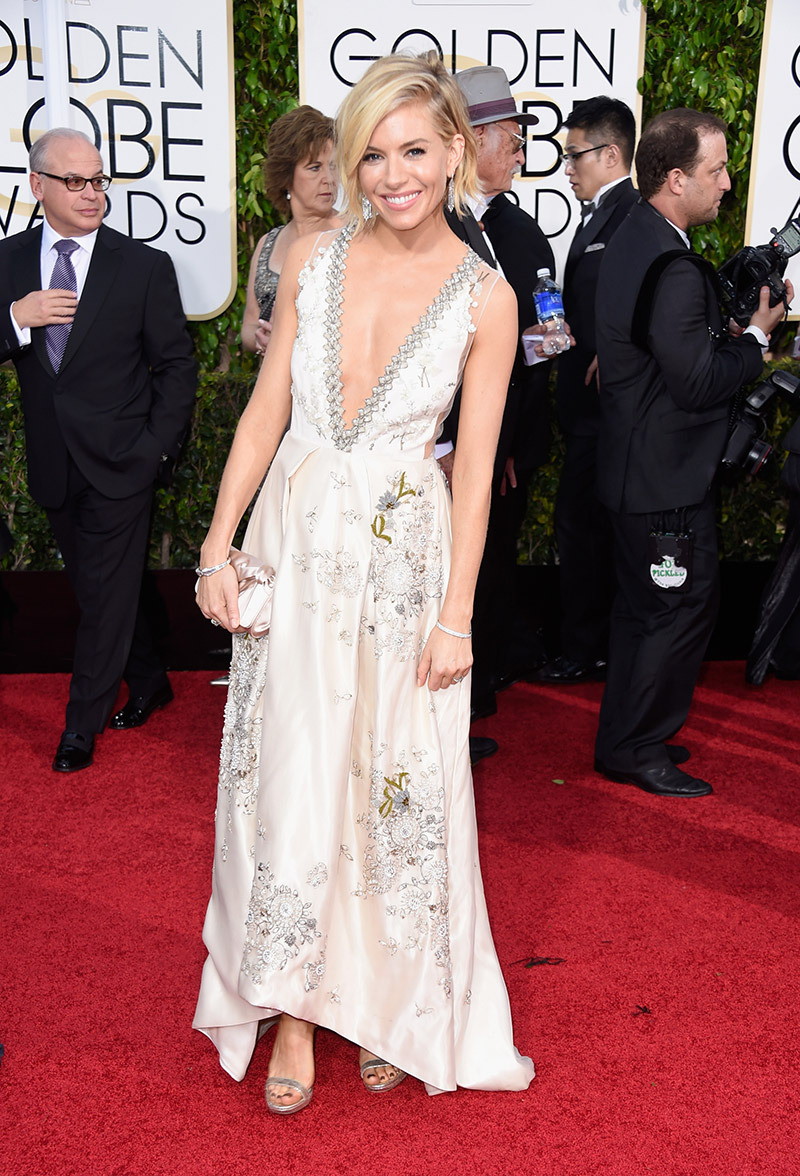 Sienna Miller, you are my fashion icon but this time, hon, you busted it!