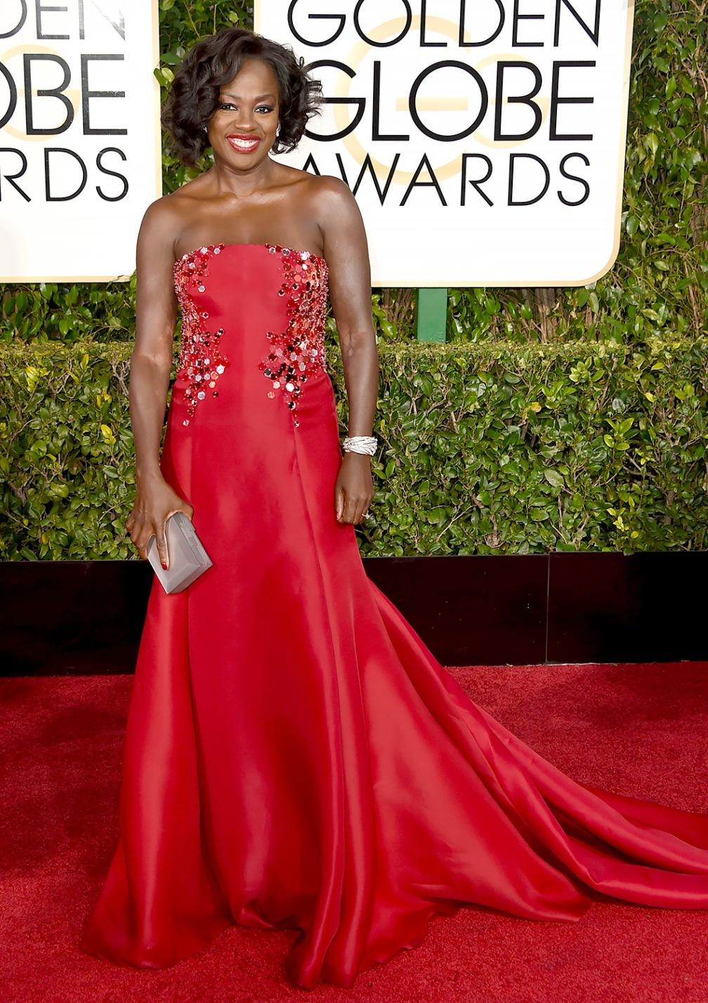 Viola Davis - I mean Viola can wear a comforter and  still look HOT!