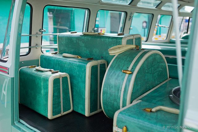 TURQUOISE LUGGAGE by J.C. Florance
