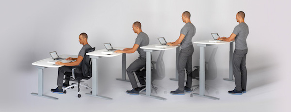 Kinetic Desk by Stir