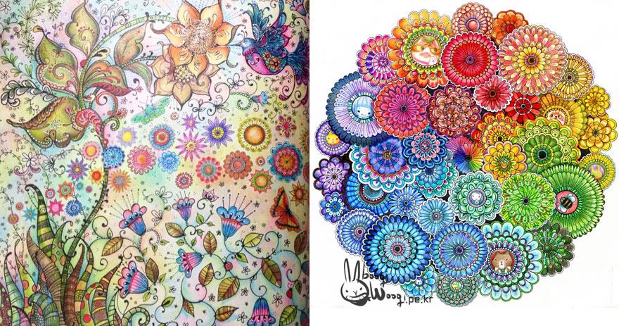 - Coloring-books-for-adults-johanna-basford-11__880 Quaintrelleoquist