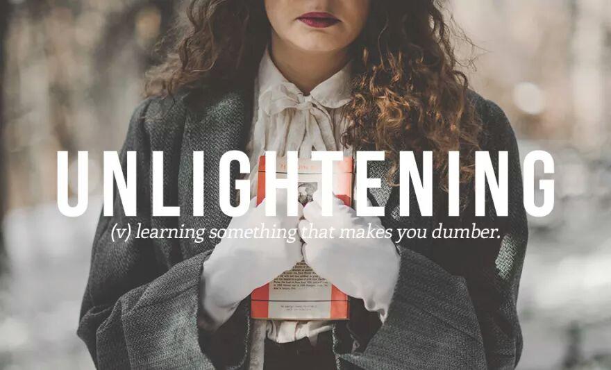 Unlightening