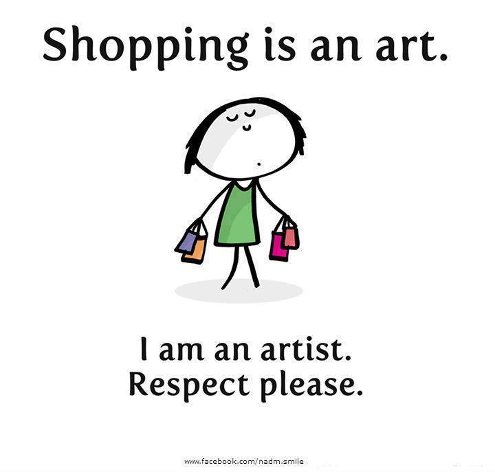 shopping is an art