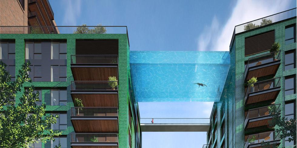 Crazy sky pool